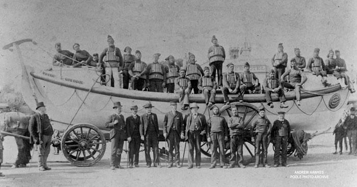 Manley Wood Life-boat Crew - 1865
