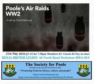 Poole's air Raids WW2 @ Royal British Legion Hall | England | United Kingdom
