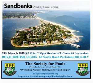 Sandbanks Talk @ Royal British Legion Hall | England | United Kingdom