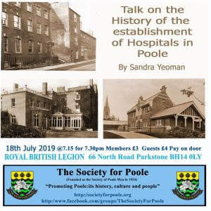 History of the Establishment of Hospitals in Poole @ Royal British Legion Hall | England | United Kingdom