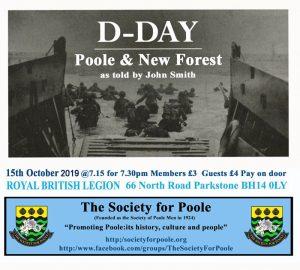 D-Day Poole & New Forest @ Royal British Legion Hall | England | United Kingdom