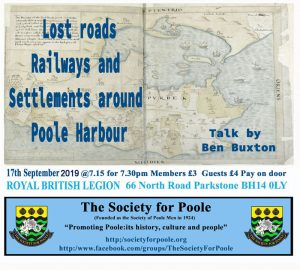 Lost Roads, Railways & Settlements Around Poole Harbour @ Royal British Legion Hall | England | United Kingdom