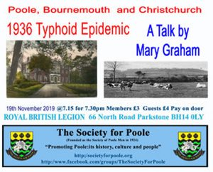 1936 Typhoid Epidemic @ Royal British Legion | England | United Kingdom