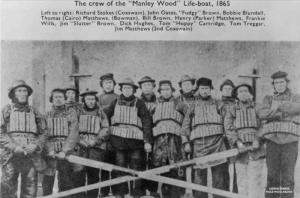 Crew of the Manley Wood
